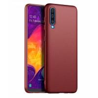 Ultra Thin TPU Silicone Case UNI for Samsung Galaxy A50 SM-A505F/DS - dark/purle matt