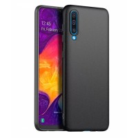 Ultra Thin TPU Silicone Case UNI for Samsung Galaxy A50 SM-A505F/DS - black matt