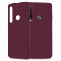 Ultra Thin TPU Silicone Case UNI for Samsung Galaxy A9 (2018) A920- wine matt
