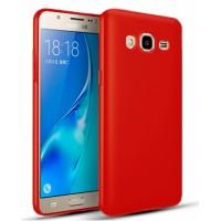 Ultra Thin TPU Silicone Case UNI for Samsung Galaxy J3  2016  J320FN - red matt