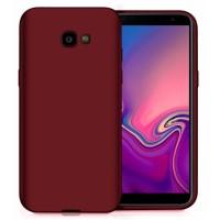 Ultra Thin TPU Silicone Case UNI for Samsung Galaxy J4+ j415- dark purple matt