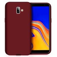Ultra Thin TPU Silicone Case UNI for Samsung Galaxy J6+ j610- dark purple matt