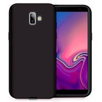 Ultra Thin TPU Silicone Case UNI for Samsung Galaxy J6+ j610- black matt