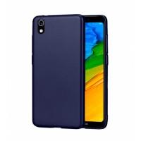 Ultra Thin TPU Silicone Case UNI for Xiaomi Redmi 7A / MZB7995IN, M1903C3EG, M1903C3EH, M1903C3EI - dark blue matt