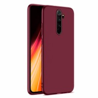 Ultra Thin TPU Silicone Case UNI for Xiaomi Redmi Note 8 Pro / M1906G7I - dark purple matt