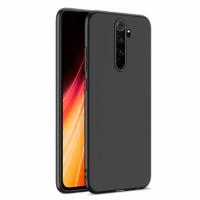 Ultra Thin TPU Silicone Case UNI for Xiaomi Redmi Note 8 Pro / M1906G7I - black matt