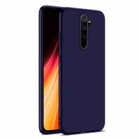 Ultra Thin TPU Silicone Case UNI for Xiaomi Redmi Note 8 Pro / M1906G7I - dark blue matt