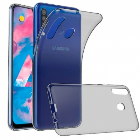 Dark Ultra Thin TPU Silicone Case for Samsung Galaxy M30 / SM-M305F/DS