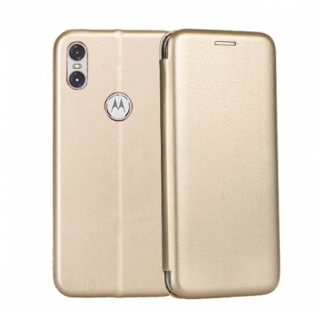Gold Book Elegance case for Motorola One (P30 Play)
