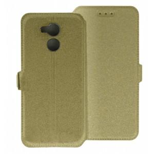Gold Book Pocket case for Huawei Nova Smart