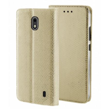 Gold Book MAGNET case for Nokia 1 Plus