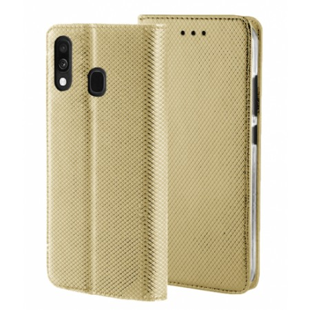 Gold Book MAGNET case for Samsung Galaxy A40 SM-A405F/DS