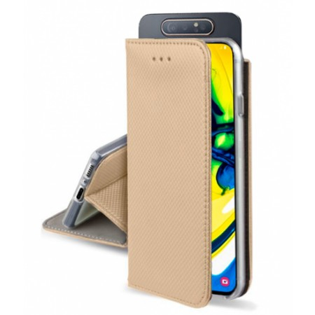 Gold Book MAGNET case for Samsung Galaxy A80 / SM-A805F/DS